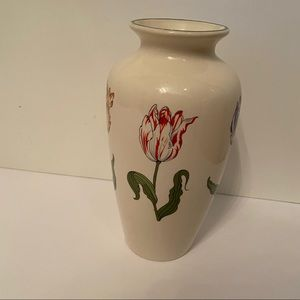 ⭐️ TIFFANY & CO VASE TIFFANY TULIPS CREAM MULTI